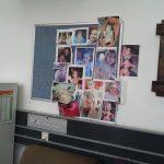 תמונות הנכדות במשרד