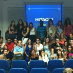 עם סטודנטים לתקשורת במכללת אחווה